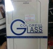 Бронь и стекло на iPhone 6 Белая