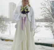 Свадебное платье Айвори 52-54