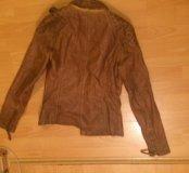 Куртка кожзам размер 40-42