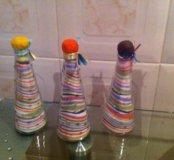 Бутылочки с солью