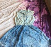 Платье джинсовое bershka