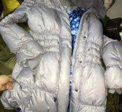 Куртка удлиненная на 12 лет