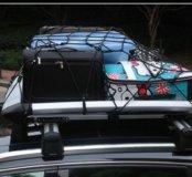 Экспедиционная алюминиевая корзина на крышу