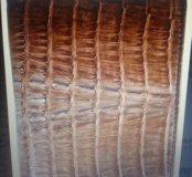 Бумажник из кожи крокодила HKCM brown