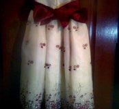 Детское платье бу размер 110:116см