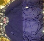 Куртка детская тёплая для девочки