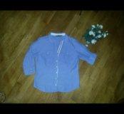 Стильная рубашка Zara p44