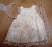 Платье д/девочки, 80-86