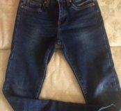 Новые тёплые джинсы на флисе