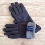 Перчатки из кожи оленя