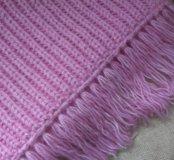 Вязаный шарф. Ручная-работа