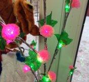 Светящееся новогоднее дерево
