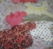 Пакет вещей для девочки от 3х месяцев