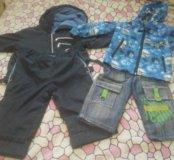 Пакет вещей для мальчика от 2х лет