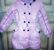 Продам стильное пальто для девочки