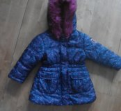 Удлиненная куртка на девочку, комбез в подарок