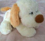 Собака игрушка мягкая( лает)