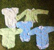 Вещи для новорождённого от 0-2 месяцев