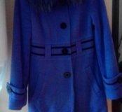 Зимнее пальто воротник енот