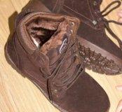 Зимние ботинки  37-38 размер
