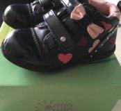 Продам ботинки на девочку осень-весна