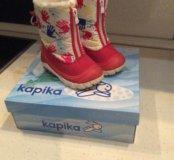 Продам зимние сапоги Капика