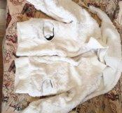 Курточка меховая на девочку