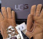Новые UGG перчатки женские