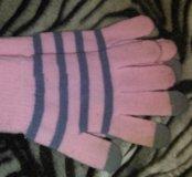 Перчатки зимние осенние женские
