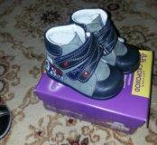 Ботиночки новые 19 размер