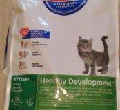 Хиллс сухой для котят