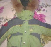 Куртка зима рост80