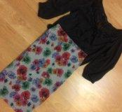 Юбка и блузка Zara