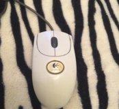 Мышка логитеч лазерная