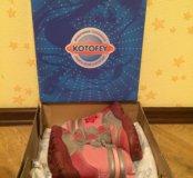 Очень тёплые ботинки для девочки