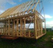 Строительство домов,бань,беседок.....