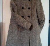 Пальто zara 40-42 размер