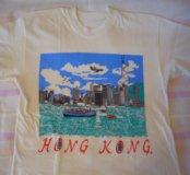 """Футболка """"Hong Kong"""", новая. Размер на 42-44"""