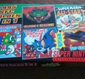 Картридж для super Nintendo 5в1