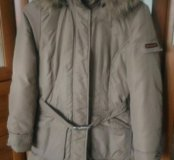 Пальто пуховое 46
