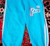 Спортивные штаны на девочку