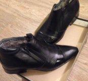 Ботинки зима Кожа (Новые)