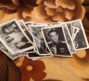 Фото-открытки с изображением актеров СССР