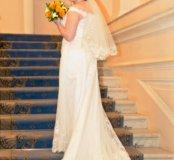 Свадебное платье цвет айвори небольшой рост