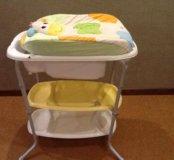 Пеленальный стол-ванночка