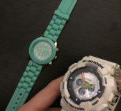Часы G-Shock и Geneva