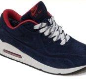 Кроссовки Nike air max winter dark blue 36-45