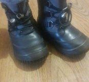Зимние ботиночки.состояние новых!