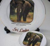 Тарелочки из Шри Ланки