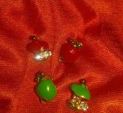 Серьги -гвоздики